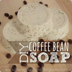 DIY coffee bean soap in under 15 minutes