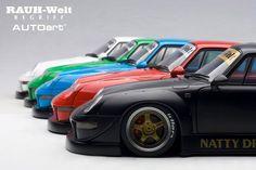 Model cars On sale! Porsche Motorsport, Porsche 993, Rauh Welt, Cars For Sale, 18th, Japan, Model, Toys, Green