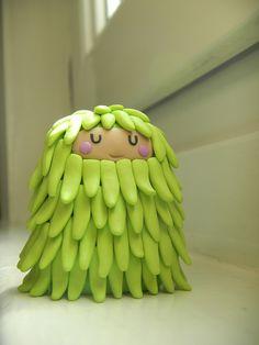 Monstre à poils - Hairy Monster by Les Folles Marquises, via Flickr