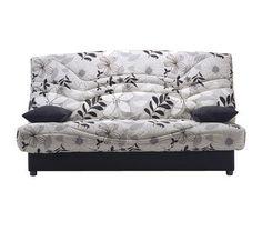 Banquette clic-clac Bultex Bermudes 130 cm confort luxe - Flowers prix promo La Maison de Valerie 399.99 € au lieu de 499.99 € TTC