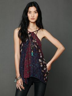 Free People Pieced Printed Tank http://www.freepeople.com/whats-new/pieced-printed-tank/