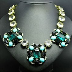 Luxuriant style Gem Embellished Alloy Necklace For Women