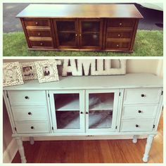 I found this tv table on the curb not a block away from my house.   I was new to painting furniture and begged my husband to go scoop it for me.   He did!    An…