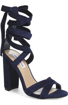 1e393e86a47 Women s Steve Madden  Christey  Wraparound Ankle Tie Sandal --A wrapped