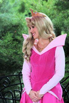 (by PirateLyssa) Princess Aurora sleeping beauty Disneyland Princess, Disneyland Rides, Aurora Disney, Disney Magic, Disney Cosplay, Disney Costumes, Princess Costumes, Princess Dresses, Disney World Characters