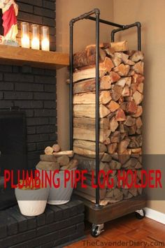 Remodelaholic | 15 Fabulous DIY Plumbing Pipe Projects