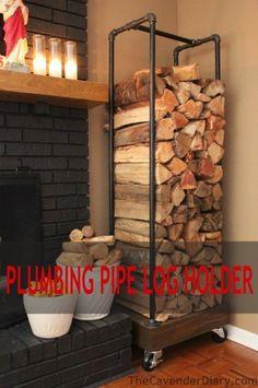 Remodelaholic | 15 Fabulous DIY Plumbing Pipe Projects