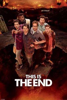 This Is The End (Hollywood) - plakat - 61x91,5 cm  Gdzie kupić? www.eplakaty.pl