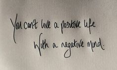 Posotive life