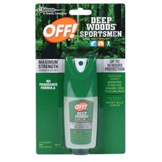 OFF! Deep Woods Sportsmen Insect Repellent I 1 Fluid Ounces