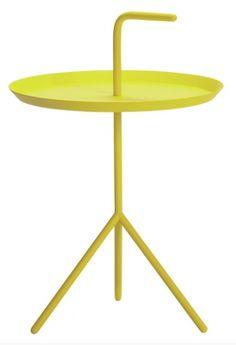 Bordet Don´t Leave Me Table er designet av Thomas Berntzen for Hay. My House, Table, Furniture, Yellow, Design, Home Decor, Decoration Home, Room Decor