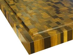 Random Mix Butcher Block Countertops Cutting Board Pattern Blocks