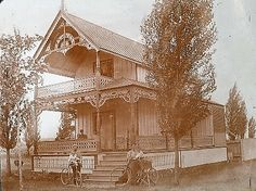 Grimsby Park Cottage, in the summer of 1890.