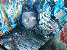 #custranz Mid-electro disruption Mirage disrupted foot. #customtransformer #customdecals #transformers #toyphotography #killertoys #creative #designer #aimhigh
