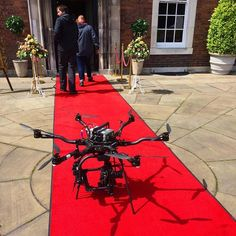 Receiving the #redcarpet treatment yesterday on set #drama #drone #aerialfilming #movipro #freeflysystems #strategydrones #dronevideo #dronephotos #videography #aerial #aerialphotography
