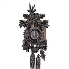 Schneider 19'' Traditional Cuckoo Clock with a Deer