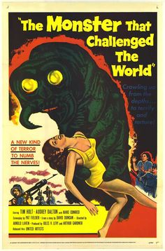 monster movie posters - Google Search