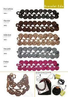 Crochet jewellery - 11