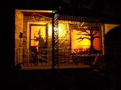 Home And House Photo : Exciting Halloween Haunted House Decorating ...