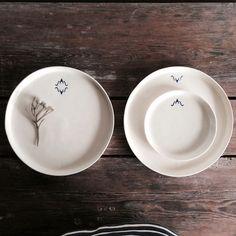 MONOGRAMA : Margarida Fernandes/monogrammed dishes/kinfolk/Lisbon/Portugal/handmade/hand thrown ceramics/dishes/pottery/neutral/plates/bowls/cups/slow living/rustic/kitchenware/modern farmhouse/European/hello lovely studio