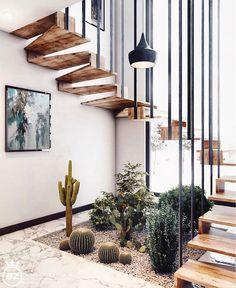 Minimale Inspiration für die Inneneinrichtung – Home Design Home Design, Modern House Design, Home Interior Design, Interior Decorating, Design Design, Diy Decorating, Interior Stairs, Studio Design, Apartment Interior