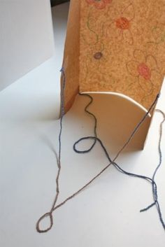 paper bag kite simple distraction : ) by etta