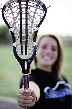 Lacrosse Senior Portrait