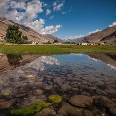 Holy lake in Zanskar