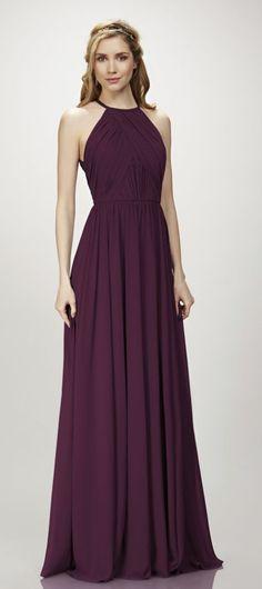 Featured Dress: THEIA; bridesmaid dress idea.
