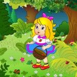 """online game for toddlers """"Picking berries"""""""