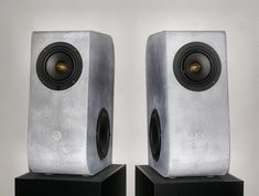 Concrete Audio makes a big statement with their new bookshelf speakers - Acquire