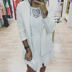 White outfit  by white_fashionshop