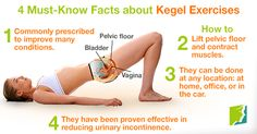 Learn how to do Kegel exercises correctly. Train your pelvic floor muscles. Tighten your vagina, prevent urinary incontinence, pelvic floor prolapse - Video Sculpter Son Corps, Post Pregnancy Workout, Urinary Incontinence, Floor Workouts, Ayurveda, Pilates, Fitness Tips, Fitness Exercises, Weight Loss