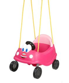 Love this Little Tikes Princess Cozy Coupe First Swing by Little Tikes on #zulily! #zulilyfinds