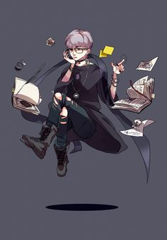 witch bts behance character male witchcraft concept aesthetic drawing drawings cute roleplay story