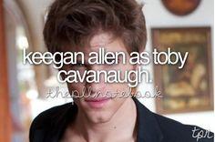 Keegan Allen as Toby Cavanaugh