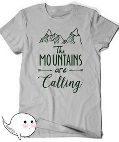 Mountains T-Shirt T Shirt Tees Funny Humor Ladies Girl Womens Mens Gift Present Hiking The mountains are calling Climbing Hiker Trail Camp by BoooTees on Etsy https://www.etsy.com/listing/239577544/mountains-t-shirt-t-shirt-tees-funny