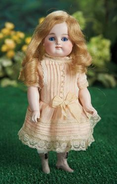 Large German All-Bisque Miniature Doll with Grey Ankle Boots 800/1100 Auctions Online   Proxibid