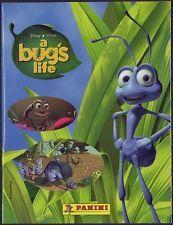 disney panini disney pixar a bugs life starter sticker book 1998