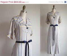 SALE 25 OFF 1930s Dress / Vintage 1930s by TulleandTiaraVintage, $63.00