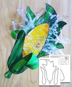 Corn on the Cob Craft-great for thanksgiving or fall