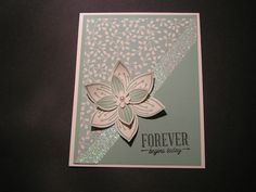 Stampin' Kat: Glitter Tape and Pretty Petals....