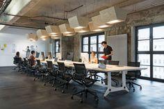 In deze oude brouwerij zit nu het hippe hoofdkantoor van SoundCloud - Roomed | roomed.nl