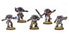 Squad of Berzerkers? Why not include some old school Wulfen?