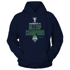 Seattle Sounders FC - 2016 MLS Cup C T-Shirt  Seattle Sounders FC Official Apparel - this licensed gear is the perfect clothing for fans. Makes a fun gift!  AVAILABLE PRODUCTS Gildan Unisex Pullover Hoodie - $44.95   Gildan Unisex Pullover Hoodie District Women District Men Next Level Women Gildan Youth T-Shirt Gildan Long-Sleeve T-Shirt Gildan Fleece Crew View sizing / material info BUY IT NOW ...