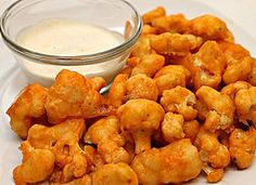 Buffalo Cauliflower... Happy Hour Appetizers 10 | Hampton Roads Happy Hour