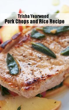 Trisha Yearwood Shared Her Simple Pork Chops and Rice Recipe.