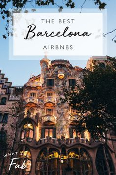 If you plan on traveling around Barcelona, here is a list of the best Airbnbs to stay at around the city! There are so many homes to choose from!  airbnbs in Barcelona | barcelona places to stay | barcelona house | where to stay in Barcelona | best places to stay in Barcelona | places to stay in barcelona Spain | best area to stay in barcelona  #airbnbsinBarcelona #barcelonaplacestostay #barcelonahouse #wheretostayinBarcelona #bestplacestostayinBarcelona #placestostayinbarcelonaSpain #barcelona