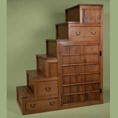 Step Tansu Furniture An Antique Step Chest A Cool Way To Store Bedding Tansu  Step Chest Furniture