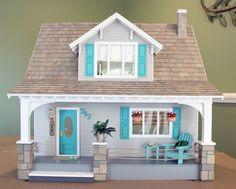 Maison De Poupées Bricolage 2 = petit blanc charnières